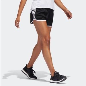 Black Clothing & Accessories Rapture Adidas M10 2 In 1 Womens Running Shorts